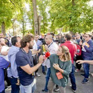 """Filippo Roma dopo l'aggressione M5s a Napoli: """"Non mi era mai capitato di rischiare il linciaggio"""""""