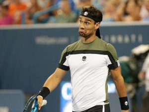 Fognini Murray video YouTube tennis shanghai show sfuriata