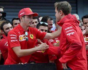 Formula 1 Messico ordine arrivo Leclerc Vettel Hamilton Verstappen
