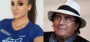 Francesca Manzini Al Bano gaffe Amici Celebrities