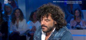 """Domenica In, Francesco Renga sulla morte della madre: """"Ho superato il senso di abbandono"""""""