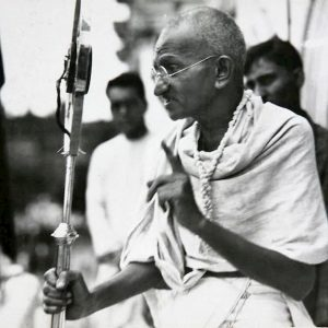 Le ceneri di Gandhi rubate