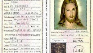 carta identita gesu