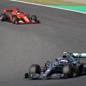 F1 Gp Giappone: Bottal beffa le Ferrari. Vettel secondo, ma quella partenza...