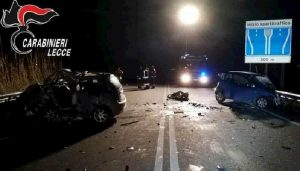 Desiderio Serio morto sulla statale Lecce-Brindisi in incidente provocato da carabiniere ubriaco