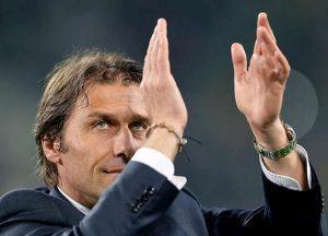 Inter Juventus risultato gol Conte Sarri sfida Scudetto