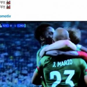 Inter sfottò Juventus Joao Mario Ciuf Ciuf Lokomotiv