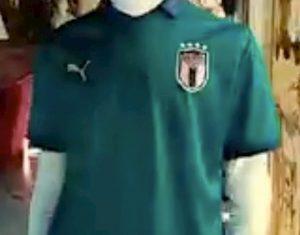 Italia Grecia Nazionale maglia verde foto celebrare giovani talenti