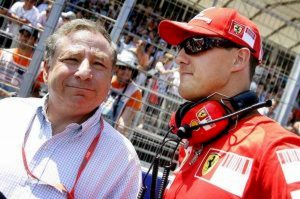 Jean Todt Michael Schumacher lotta gp insieme