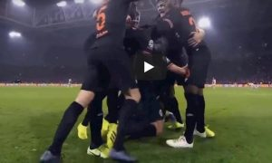 Jorginho Batshuayi video YouTube esultanza luci rosse Chelsea Ajax