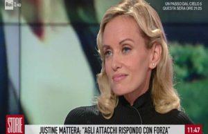 Storie Italiane, Justine Mattera
