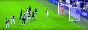 Juventus Bologna Buffon parata 94' rovesciata Santander miracolosa