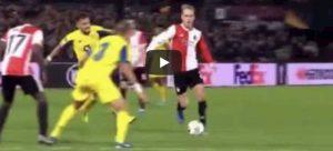 Karsdorp gol video YouTube Feyenoord Porto Europa League