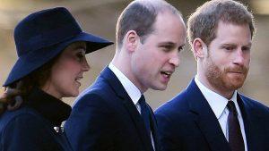 William e Harry, fratelli contro