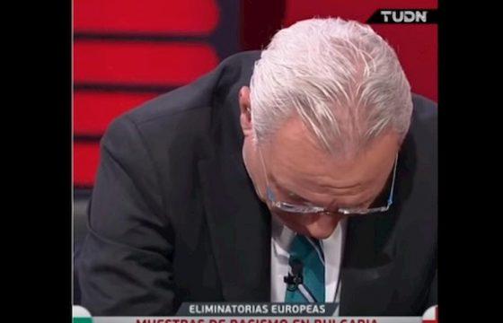 Stoichkov in lacrime in diretta tv