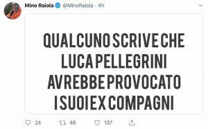 Luca Pellegrini Kolarov lite Raiola smentisce su Twitter