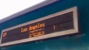 Pakistan-Los Angeles in treno
