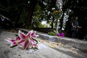Il luogo dove è stato ucciso Luca Sacchi