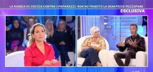 """Pomeriggio 5, Simone Coccia Colaiuta e Lucia Bramieri amanti? Lui: """"Nessun bacio"""""""