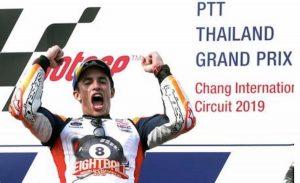 Marquez campione mondo MotoGp ottavo titolo in carriera