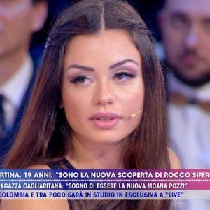 """Martina Smeraldi a Live Non è la D'Urso: """"Farò un film con Malena"""""""