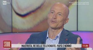 """Storie Italiane, Giorgio Mastrota: """"Con Natalia Estrada non fui un buon marito"""""""