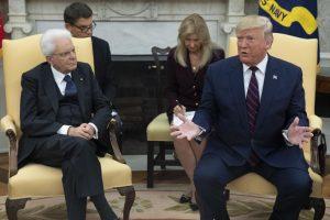 Mattarella Trump scontro dazi