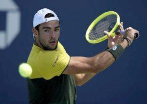 Matteo Berrettini classifica atp leader tennis italiano davanti Fognini