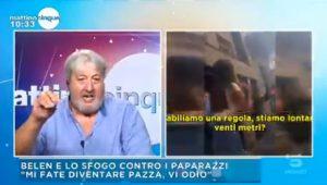 """Mattino 5, Maurizio Sorge: """"Claudia Gerini mi ha rubato il cellulare. C'erano foto..."""""""