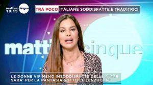 """Mattino Cinque, Antonella Mosetti e il dettaglio piccante sull'ex fidanzato Aldo Montano: """"A letto..."""""""