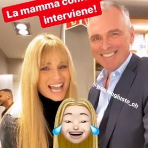 Michelle Hunziker presenta ai fan il fratello Harold su Instagram
