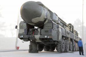 Un missile balistico intercontinentale