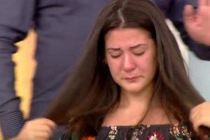 Turchia, la modella piange in diretta tv