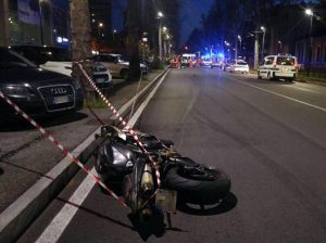 Roma, Christian Cini muore in un incidente in moto in via della Storta
