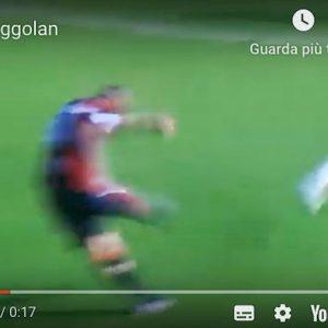 Nainggolan Cagliari Spal YouTube Claudia Lai dedico rete mia moglie