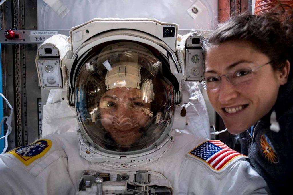 astronaute donne nasa