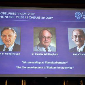 Nobel Chimica 2019 batterie litio