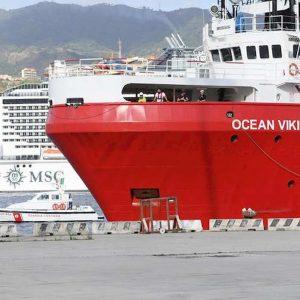 Ocean Viking sbarca domani a Taranto 176 migranti
