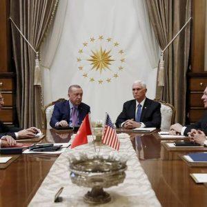 Siria, cessate il fuoco di 5 giorni: accordo Usa-Turchia per il ritiro dei curdi
