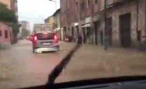 Bomba d'acqua in provincia di Alessandria: in arrivo nuove piogge VIDEO