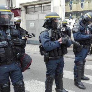 La polizia francese, Ansa