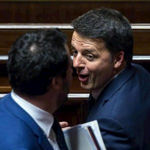 Porta a Porta, duello Renzi-Salvini questa sera: 75 minuti senza regole