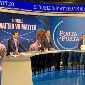 Quota 100, il duello Salvini-Renzi (che cita lo zio vigile)