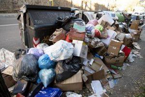 Problema rifiuti a Roma