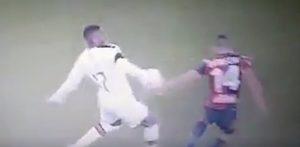 Rigore Genoa Milan var Leao Biraschi espulsione
