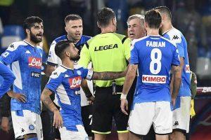 Napoli-Atalanta: il rigore negato oggetto di interrogazione parlamentare