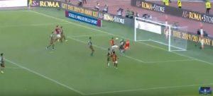 Roma Cagliari Kalinic video YouTube Fonseca espulsione