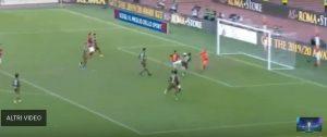 Roma Cagliari Kalinic youtube Petrachi assurdo annullare gol