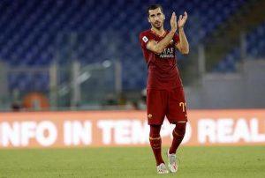 Roma infortuni Pellegrini Mkhitaryan tempi recupero