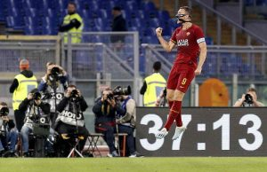 Roma Milan gol Dzeko  Serie A